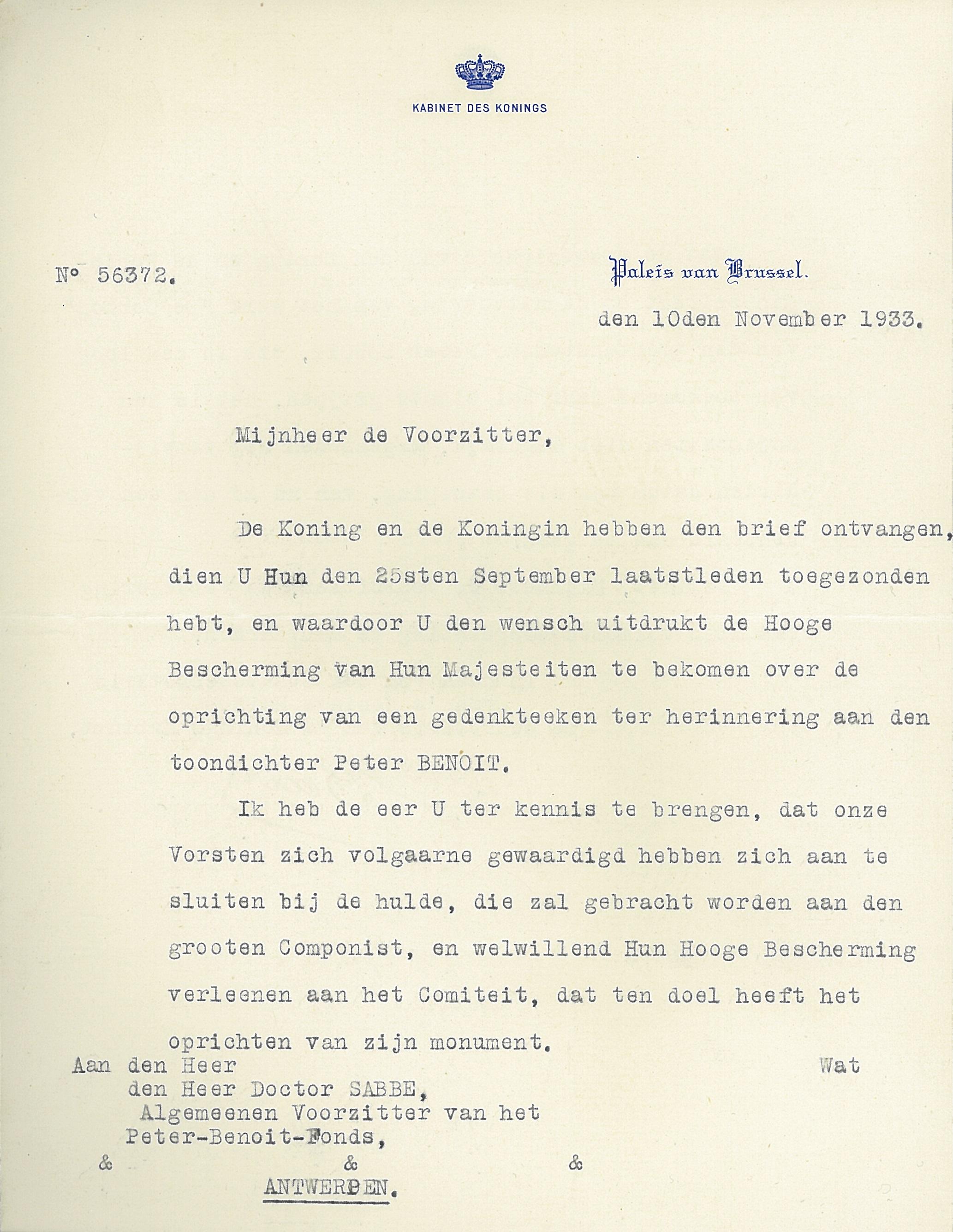 brief schrijven naar de koning Voorbeeld Brief Aan De Koning | gantinova